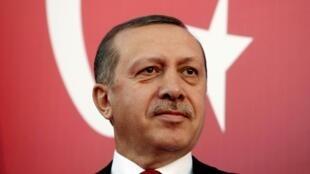 O primeiro-ministro turco Recep Tayyip Erdogan.
