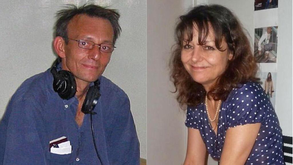 Claude Verlon et Ghislaine Dupont.