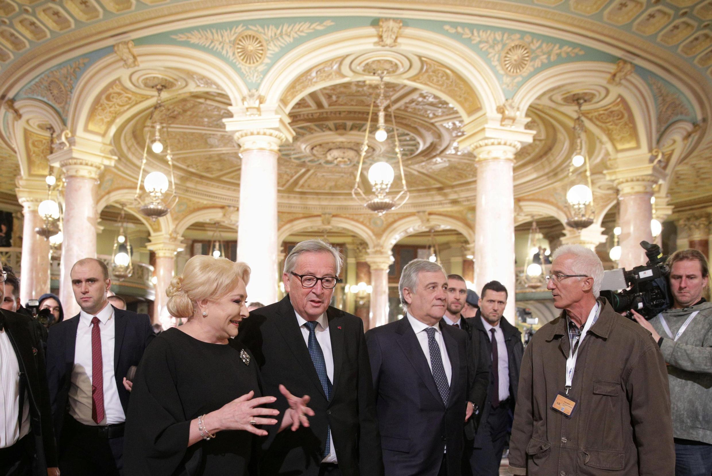 Гала вечер в честь передачи председательства в ЕС от Австрии к Румынии, 10 января 2018 год