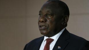 Le président sud-africain Cyril Ramaphosa compte sur un grand plan d'investissement dans les infrastructures du pays.