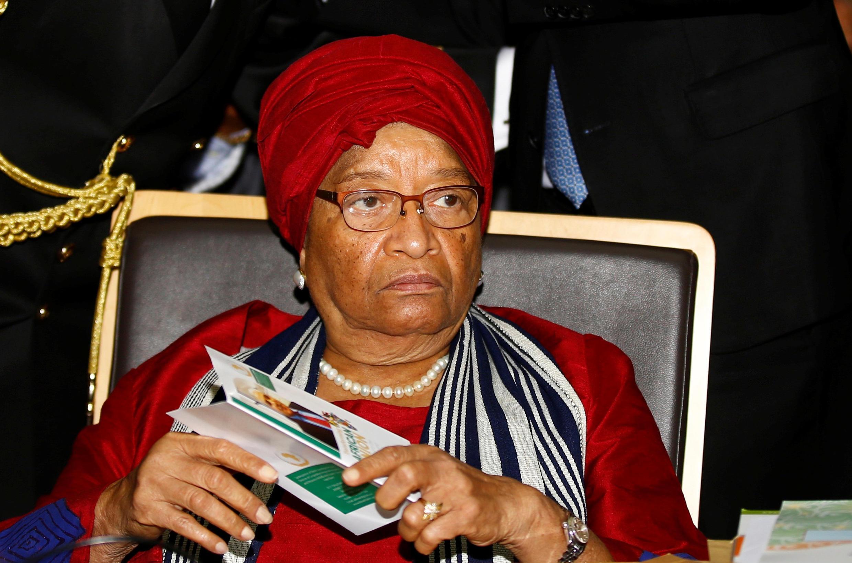 Shugaba Ellen Johnson Sirleaf na gab da kawo karshan wa'adinta