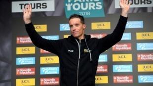 Sylvain Chavanel a mis un terme à sa carrière lors de Paris-Tours, le 7 octobre 2018.
