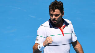Switzerland's Stan Wawrinka won his first match of the season in Melbourne
