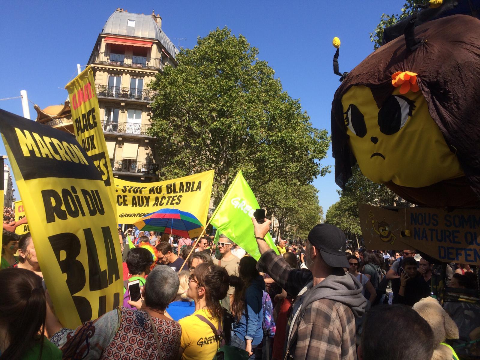 Le défilé «pour le climat et la justice sociale» s'ébranle ce samedi à la mi-journée du centre de Paris, à l'appel de nombreuses ONG.