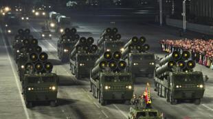 Rússia, Estados Unidos, Reino Unido, França, China, Índia, Paquistão, Israel e Coreia do Norte contam atualmente com 13.080 armas nucleares.