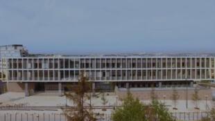 Une vue du lycée international de l'est parisien (capture d'écran).