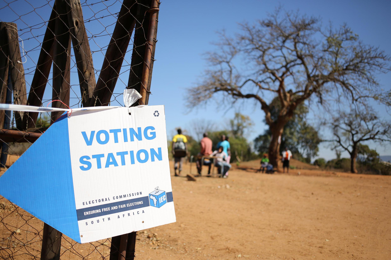 Zona eleitoral de Vuwani, na África do Sul, nesta quarta-feira, 3 de agosto de 2016.