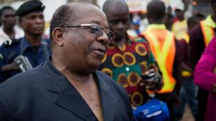Kyungu Wa Kumwanza, leader de l'Unafec et président de l'Assemblée nationale provinciale du Katanga, ici en décembre 2011.