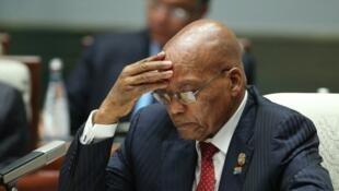 Shugaban Afirka ta Kudu, Jacob Zuma.