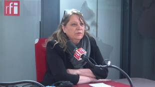 Florence Dodin, secrétaire générale adjointe de l'Union Nationale des Syndicats Autonomes (UNSA) sur RFI, le 7 janvier 2020.