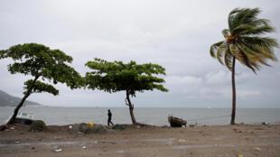 La côte de Cap Haïtien, en Haïti, le 7 septembre 2007.