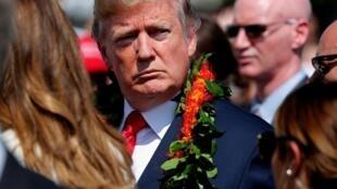 Tổng thống Mỹ Donald Trump tại Hawaii, ngày 03/11/2017.
