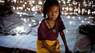 Fátima, de 7 años, es de la región de Afar, en Etiopía. Sufrió la mutilación genital a la edad de un año.