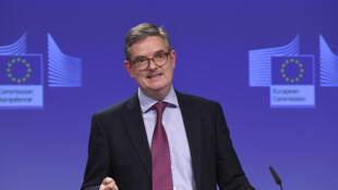 Julian King, le commissaire européen à la sécurité.