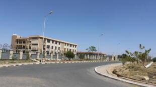 La présidence de la région Somali, sur les hauteurs de Jigjiga, désormais occupée par Mustafa Muhumed Omer.