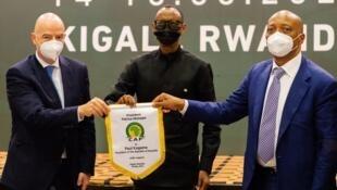 PHOTO Infantino Kagame Motsepe