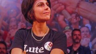 Manuela D'Ávila veio à Europa discutir situação do Brasil