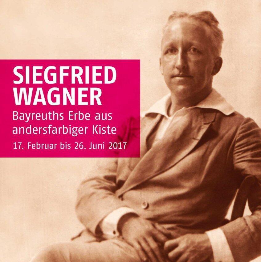 Affiche de l'exposition «Siegfried Wagner» au musée homosexuel de Berlin jusqu'au 26 juin 2017.