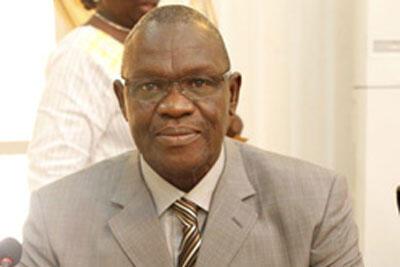 Mohamed Ali Bathily, ministre malien de la Justice.