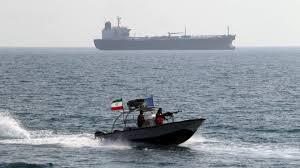 یک قایق تندروی سپاه پاسدارن در خلیج فارس