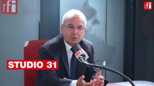 Jean Leonetti, président par intérim du parti Les Républicains sur RFI, le 24/09/2019.