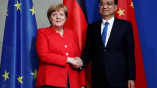 2018年7月9日中国总理李克强到访德国