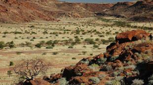 Une vue du sol namibien.