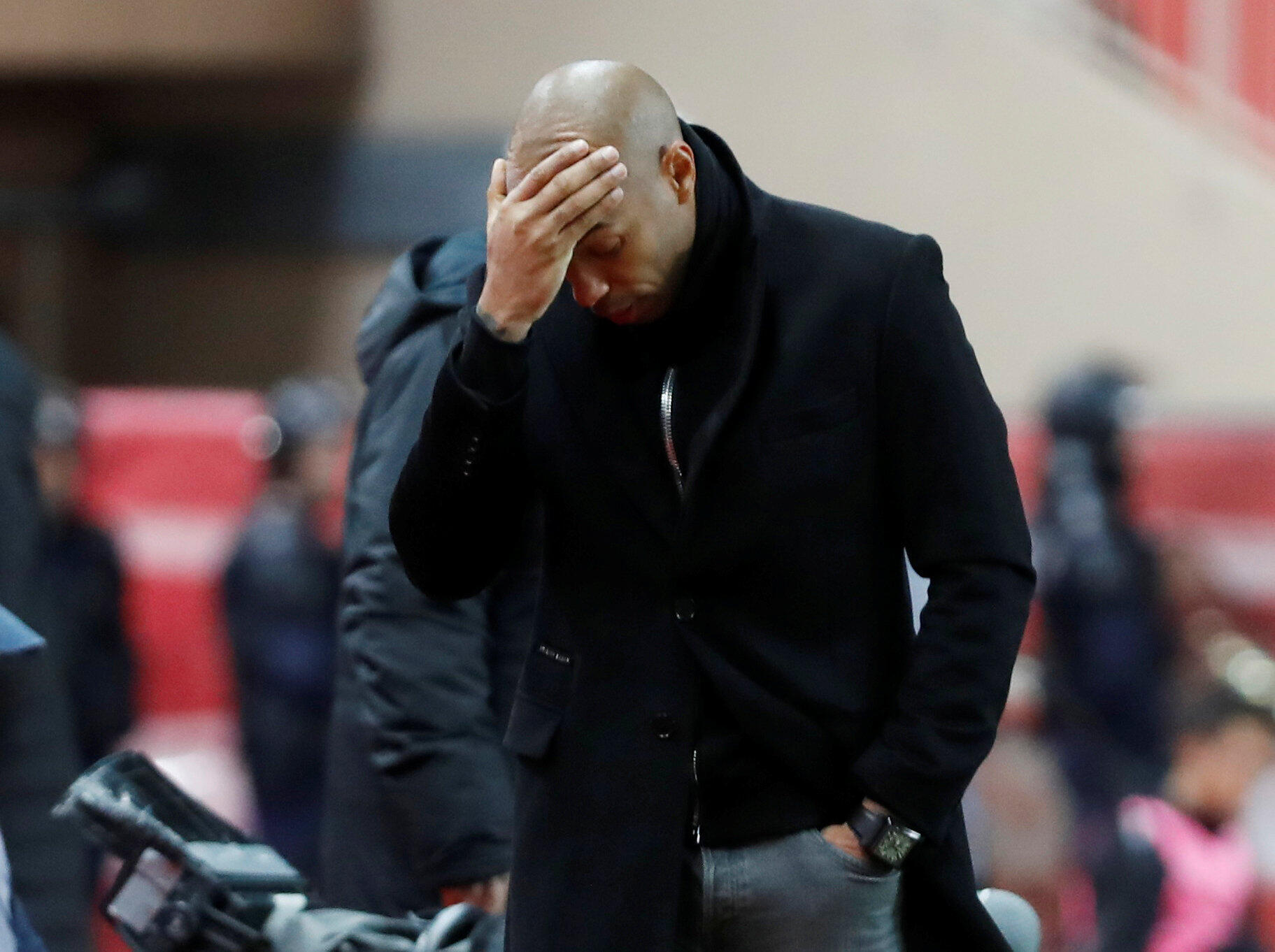 Thierry Henry took over at Monaco in October with the club battling relegation.