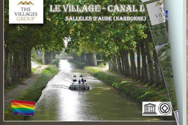 Рекламный буклет компании Village Group о строительстве деревни для пенсионеров-геев