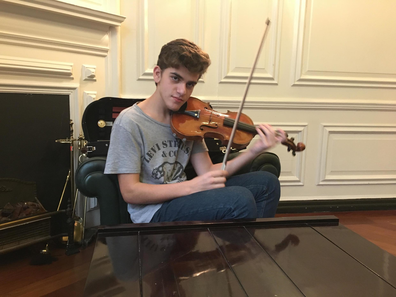 Guido Sant'Anna participou da Competição Menuhin, em Londres, a mais prestigiosa premiação do mundo para violinistas.