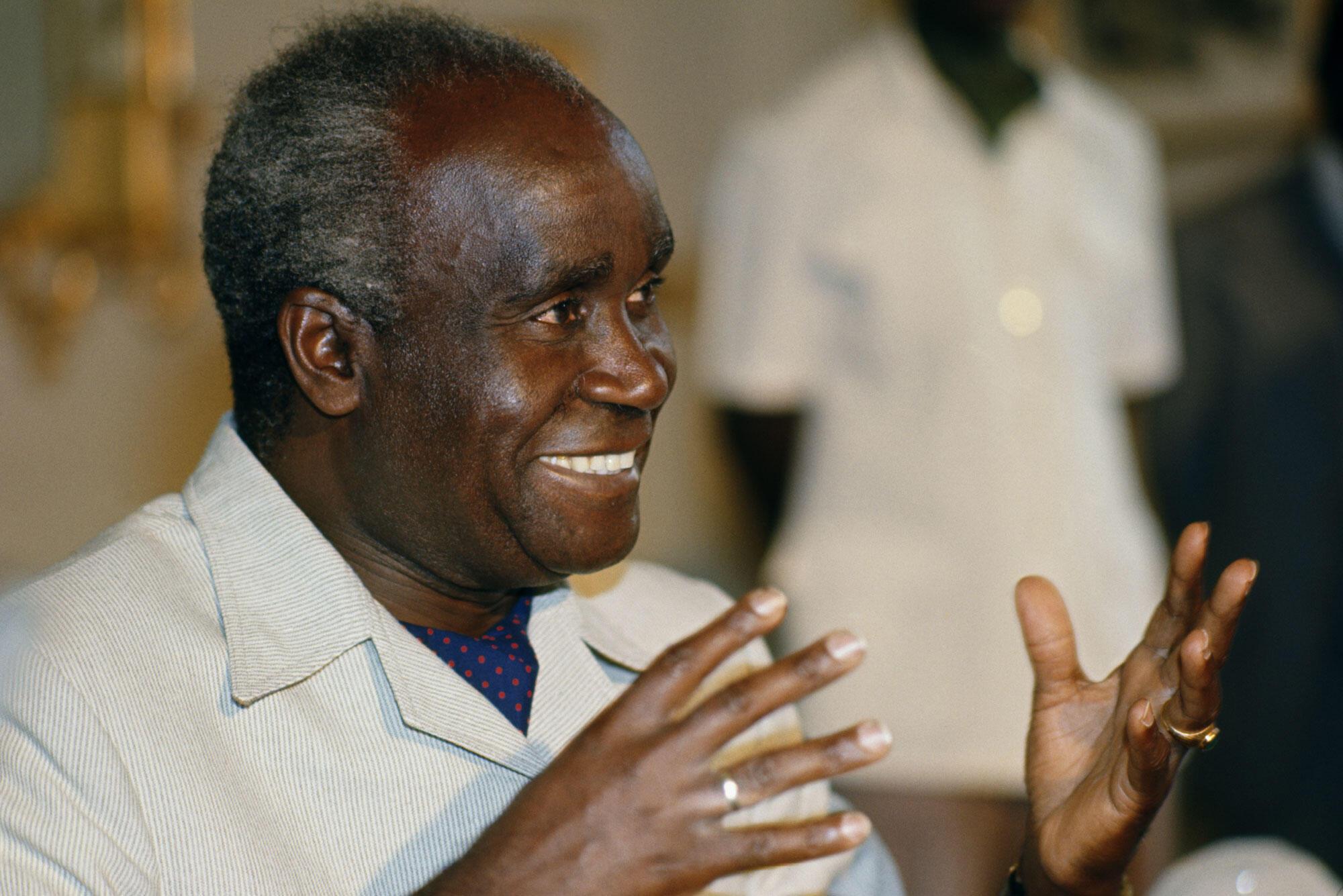 Kenneth Kaunda en 1977.