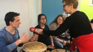 Les Tambours de la Chapelle -Guillaume interviewé par Agnès Rougier.
