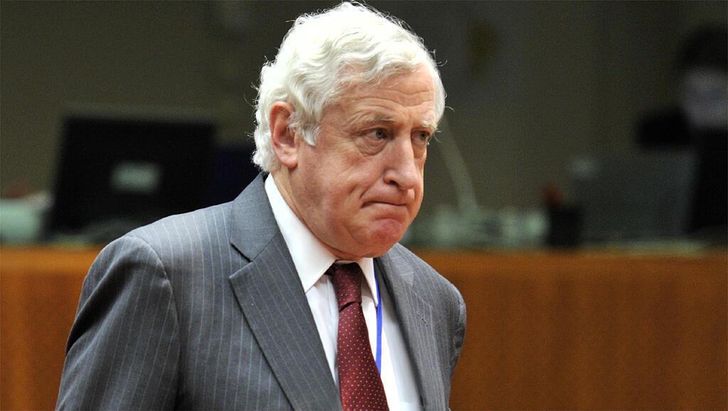 Pierre Vimont, le 18 novembre 2013, à Bruxelles. Il était alors secrétaire général exécutif du Service européen pour l'action extérieure.