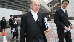英国御用大律师佩里资料图片