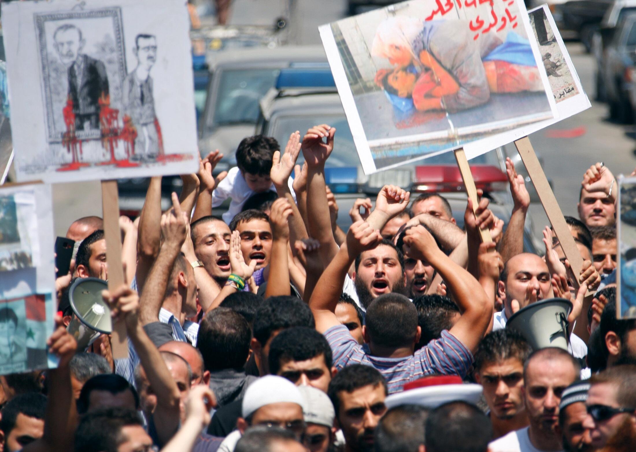 Gungun Masu gudanar da Zanga-zanga a kasar Syria