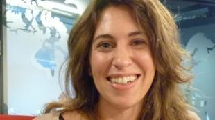 La antropóloga argentina Julieta Quirós en los estudios de RFI