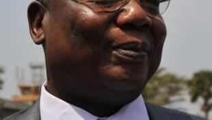 Martin Ziguélé, à Bangui, le 7 janvier 2013.