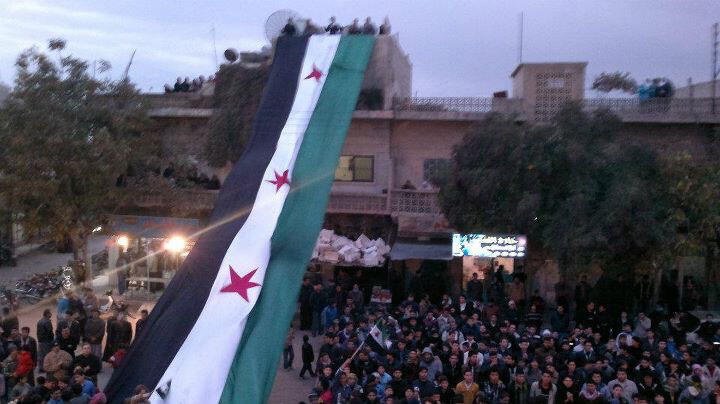 Depuis le mois de mars 2011, les Syriens exigent des réformes et manifestent dans tout le pays (photo prise le 18 novembre 2011).