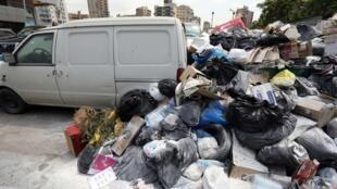 Rua de Beirute no passado 27 de Julho