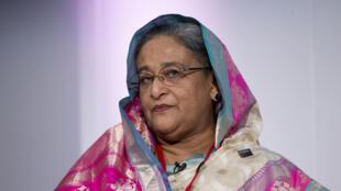 L'opposition accuse le gouvernement de Sheikh Hasina (en juillet 2014 sur la photo) de se servir de la lutte contre le terrorisme islamiste pour écraser l'opposition.