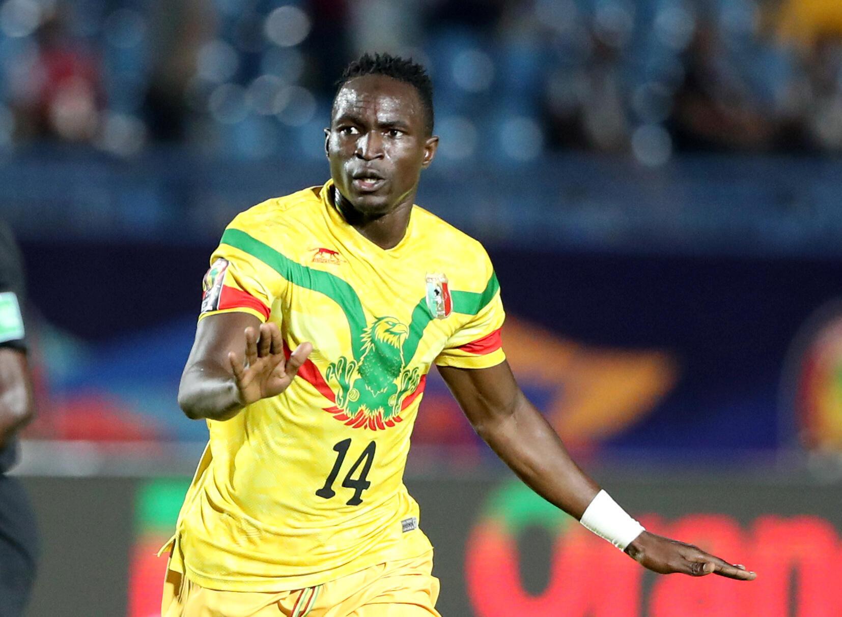 Adama Traoré scored Mali's final goal in the 4-1 rout of Mauritania