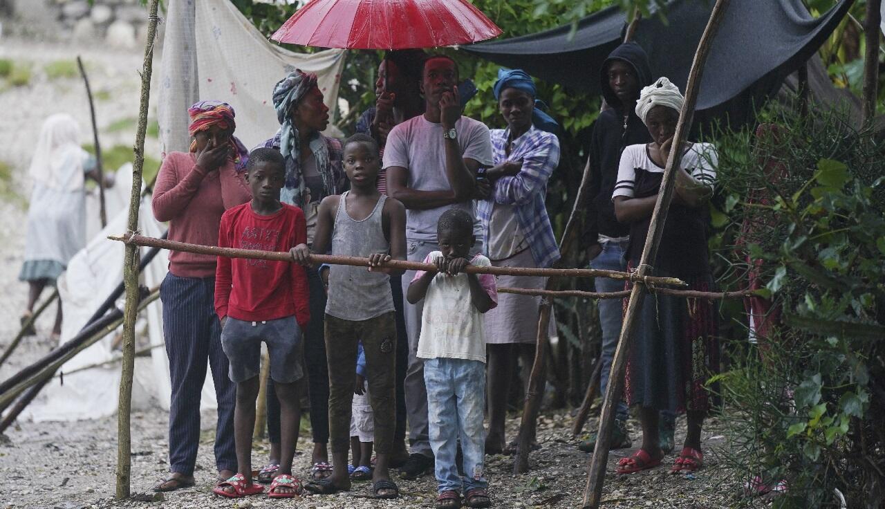 PHOTO Haïti Les Cayes - 17 août 2021
