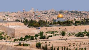 La ville sainte de Jérusalem.