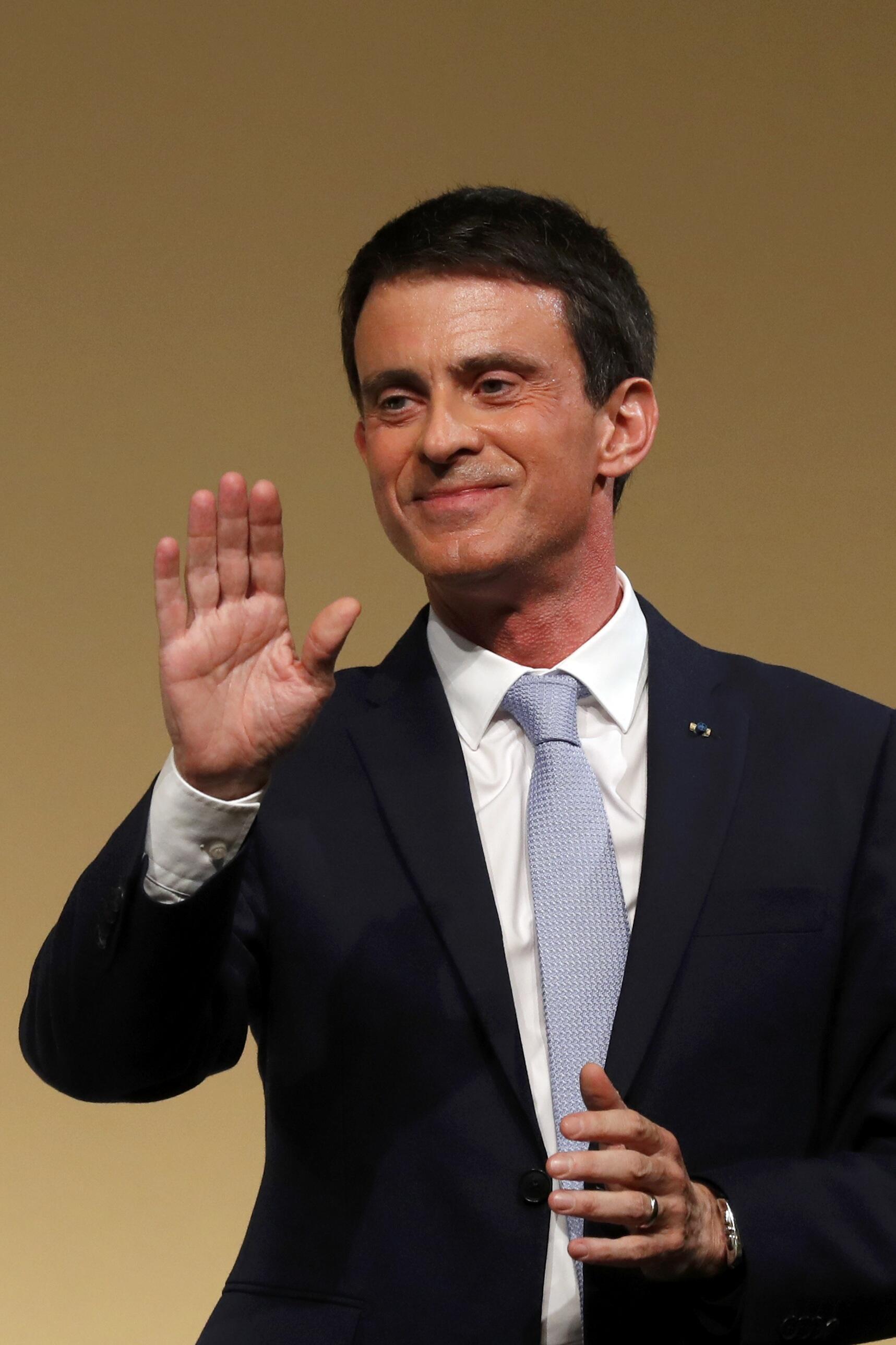Manuel Valls, antigo Primeiro-Ministro francês.