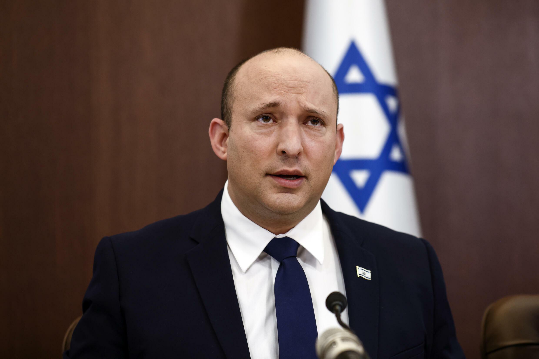 El primer ministro israelí Naftali Bennett en Jerusalén, el 5 de octubre de 2021