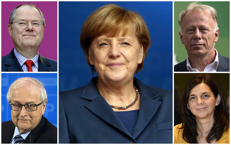 Os candidatos as eleições na Alemanha previstas para este 22 de setembro de 2013
