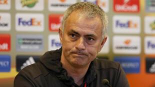 Kocha wa Manchester United, Jose Mourinho.