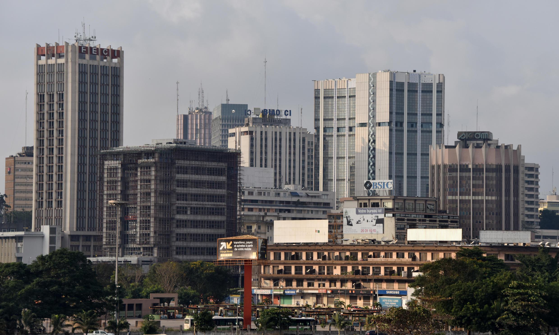 Une vue du quartier du Plateau, le quartier d'affaires d'Abidjan, capitale de la Côte d'Ivoire. (Illustration)