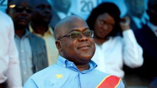 Rais wa DRC, Felix Tshisekedi.