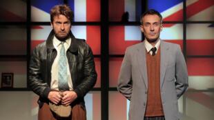 «La machine de Turing», mise en scène par Tristan Petigirard avec Benoît Solès et Amaury de Crayencour dans les rôles principaux.